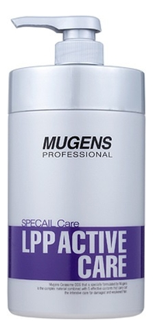 Фото - Маска для волос восстанавливающая Mugens Specail LPP Active Care 1000мл спрей для волос восстанавливающий mugens zen care ss treatment 500мл