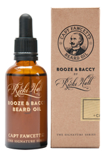 Captain Fawcett Масло для бороды Ricki Hall's Booze & Baccy Beard Oil