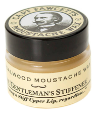 Captain Fawcett Воск для усов Sandalwood Moustache Wax 15мл (сандал)