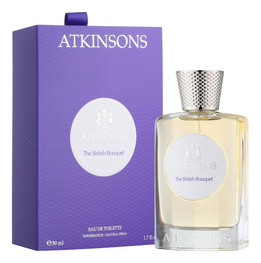 Atkinsons The British Bouquet: туалетная вода 50мл atkinsons the british bouquet туалетная вода 50мл