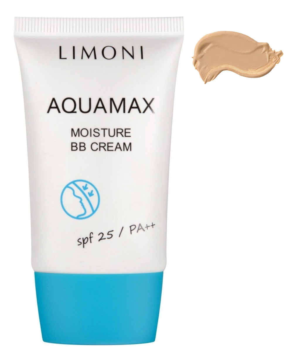 Купить BB крем для лица увлажняющий Aquamax Moisture Cream SPF25 PA++ 40мл: No 2, Limoni