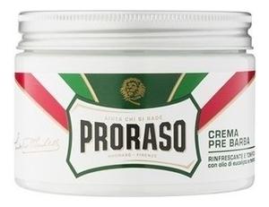 Крем до бритья Ментол и эвкалипт Crema Pre Barba Rinfrescante E Tonificante: Крем 300мл