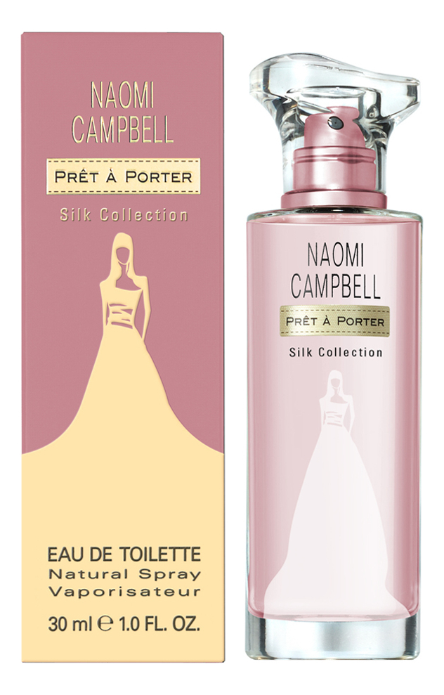 Naomi Campbell Pret A Porter Silk Collection: туалетная вода 30мл naomi campbell pret a porter silk collection туалетная вода 30мл