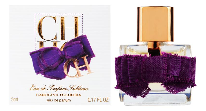 Купить CH Eau De Parfum Sublime: парфюмерная вода 5мл, Carolina Herrera