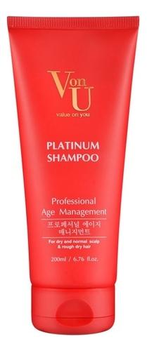 Шампунь для волос с платиной Platinum Shampoo 200мл