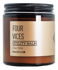 Beardbrand Бальзам для волос Four Vices Utility Balm