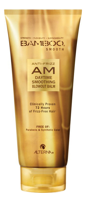 alterna bamboo smooth набор bamboo smooth набор Дневной полирующий бальзам Bamboo Smooth Anti-Frizz AM Daytime Smoothing Blowout Balm 150мл