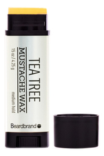 Beardbrand Воск для бороды и усов Tea Tree Mustache Wax 4,25г
