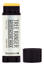 Beardbrand Воск для бороды и усов Tree Ranger Mustache Wax 4,25г