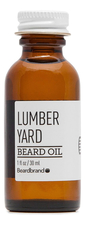 Beardbrand Масло для бороды Lumber Yard Beard Oil 30мл