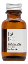 Beardbrand Масло для бороды Tea Tree Beard Oil 30мл