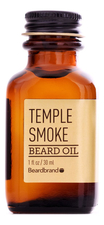 Beardbrand Масло для бороды Temple Smoke Beard Oil 30мл
