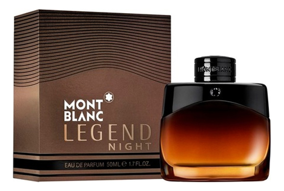 Mont Blanc Legend Night : парфюмерная вода 50мл mont blanc legend spirit туалетная вода 50мл