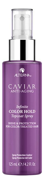 Спрей для придания блеска Caviar Anti-Aging Infinite Color Hold Topcoat Shine Spray 125мл