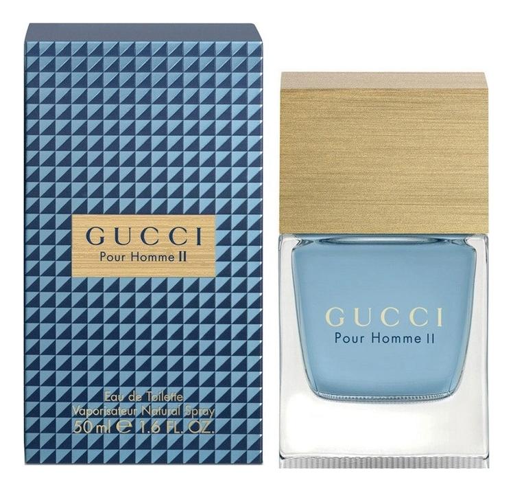 цена Gucci Pour Homme 2: туалетная вода 50мл онлайн в 2017 году
