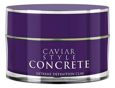 Дефинирующая глина для волос экстрасильной фиксации Caviar Style Concrete Extreme Definition Clay 52мл osmo глина воск для волос matte clay extreme 100 мл