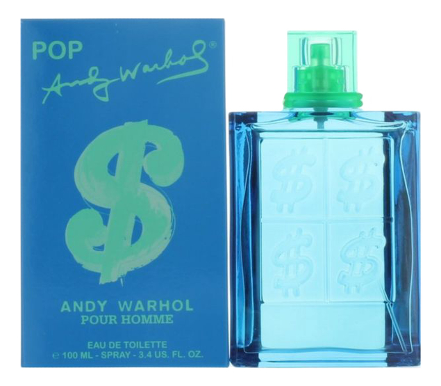 Andy Warhol Pop pour Homme: туалетная вода 100мл
