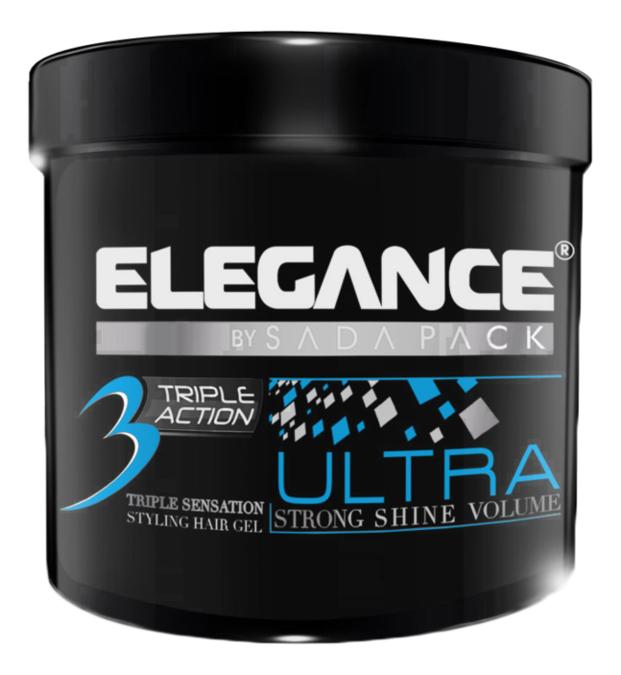 Гель для укладки волос тройного действия Triple Action Hair Gel Blue: 1000мл