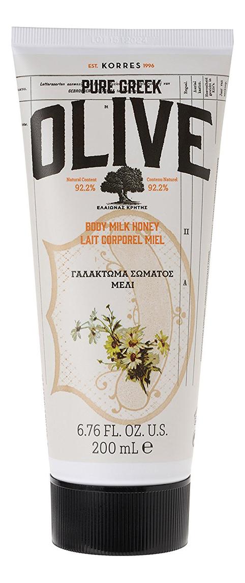 Фото - Молочко для тела Pure Greek Olive Body Milk Honey 200мл (мед) молочко для тела korres базилик