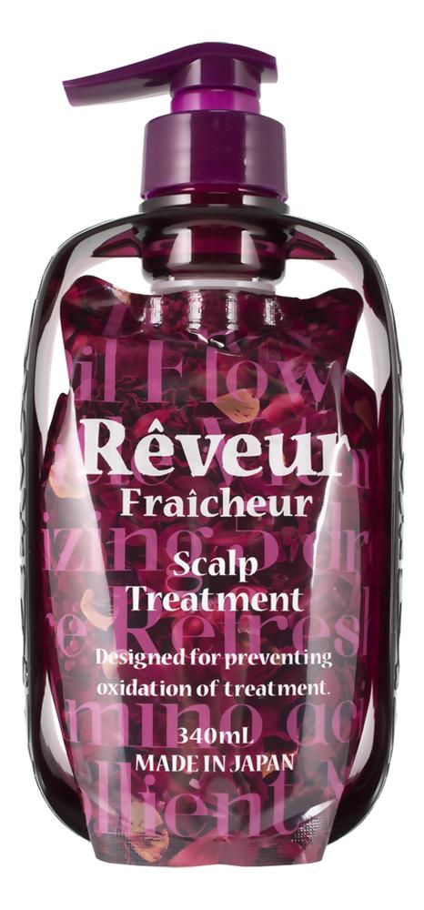 Живой кондиционер для кожи головы Fraicheur Scalp Treatment: Кондиционер 340мл reveur