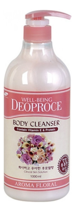 deoproce мист well being hydro Гель для душа Well-Being Aroma Body Cleanser Floral 1000мл (цветы)