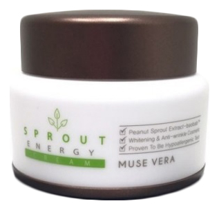 Крем для лица с экстрактом ростков баобаба Muse Vera Sprout Energy Cream 50мл недорого