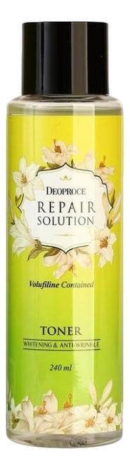 Тонер для лица с волюфилином Repair Solution Volufiline Contained Toner 240мл