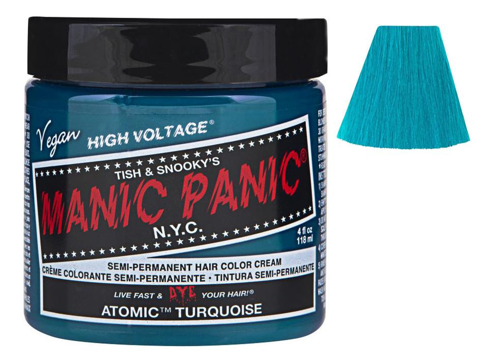 Купить Краска для волос High Voltage 118мл: Atomic Turquoise, Manic Panic