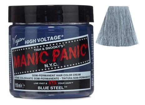 Купить Краска для волос High Voltage 118мл: Blue Steel, Manic Panic