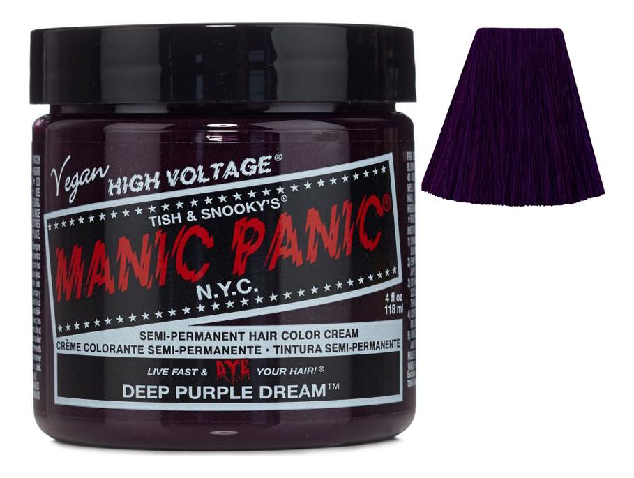 Краска для волос High Voltage 118мл: Deep Purple Dream, Manic Panic  - Купить
