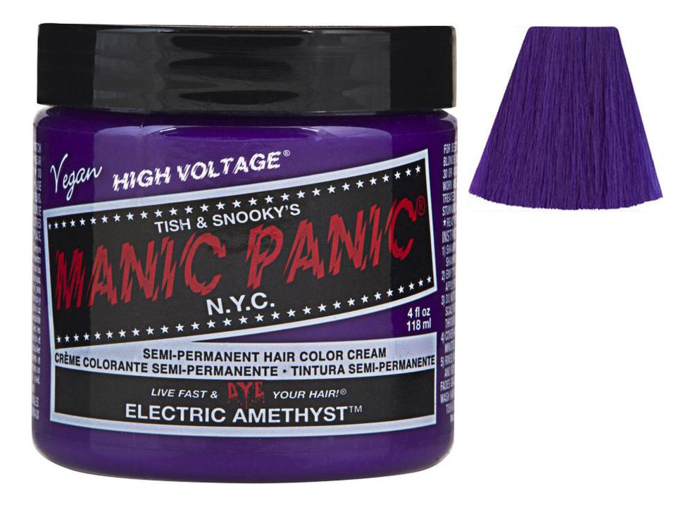 Купить Краска для волос High Voltage 118мл: Electric Amethyst, Manic Panic