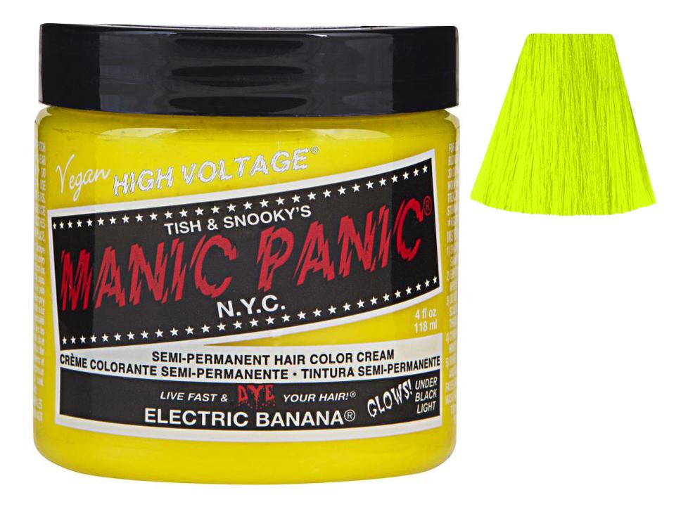 Купить Краска для волос High Voltage 118мл: Electric Banana, Manic Panic