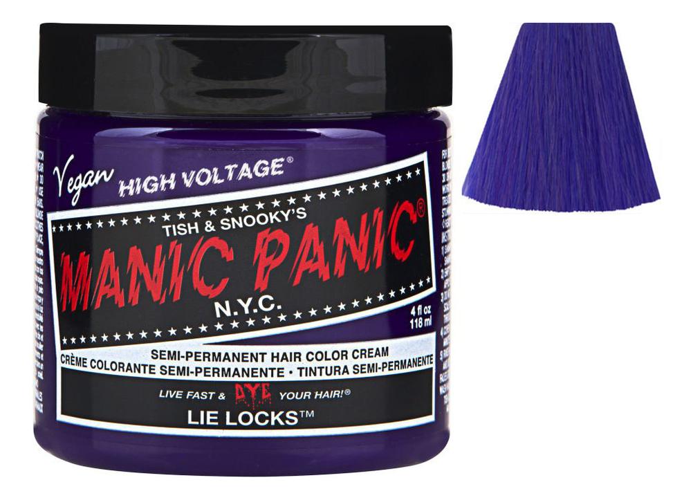 Купить Краска для волос High Voltage 118мл: Lie Locks, Manic Panic