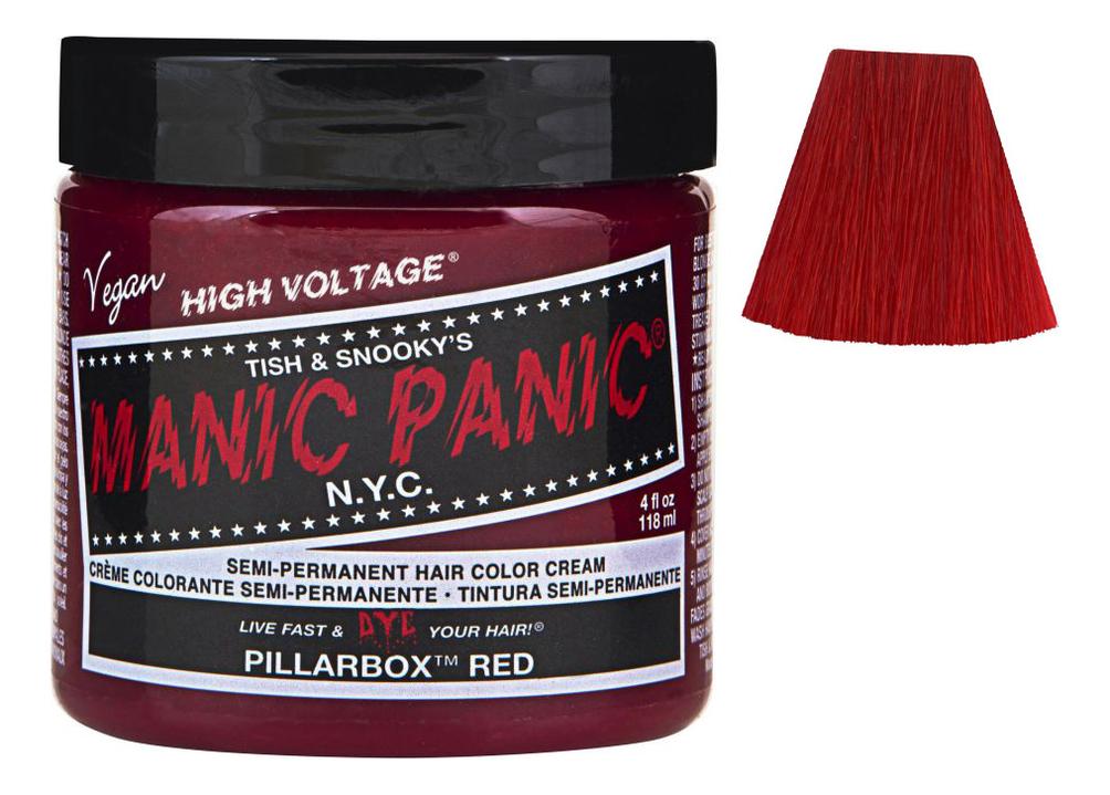 Купить Краска для волос High Voltage 118мл: Pillarbox Red, Manic Panic