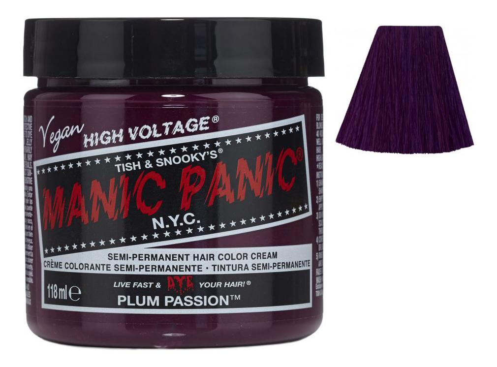Купить Краска для волос High Voltage 118мл: Plum Passion, Manic Panic