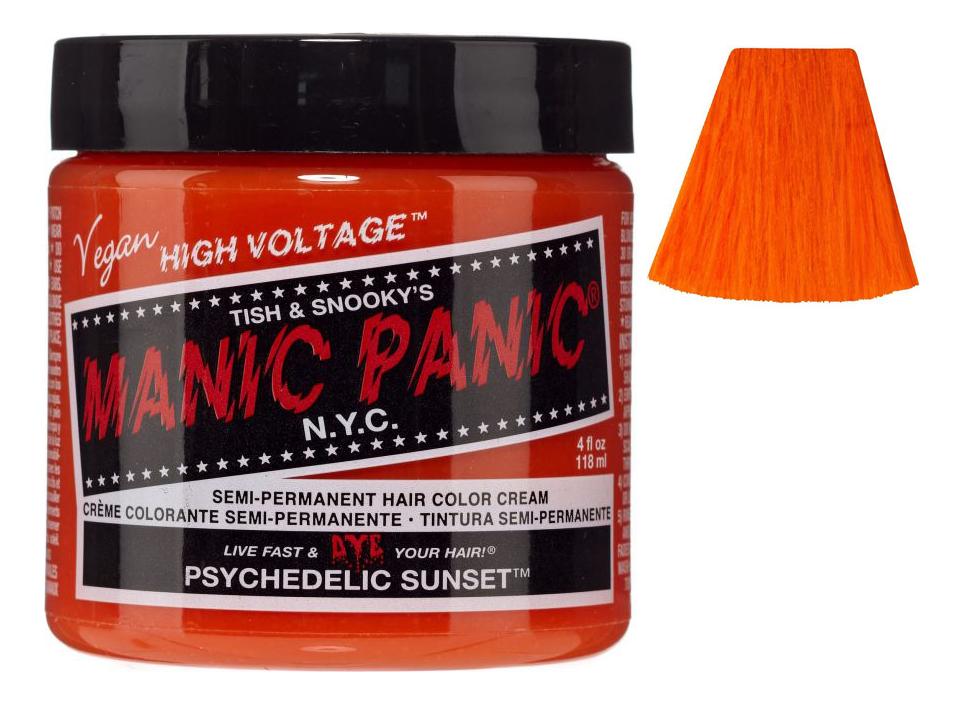 Купить Краска для волос High Voltage 118мл: Psychedelic Sunset, Manic Panic