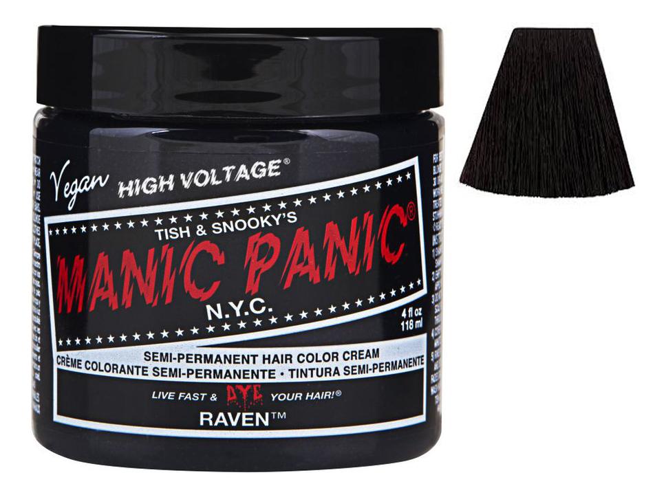 Купить Краска для волос High Voltage 118мл: Raven, Manic Panic