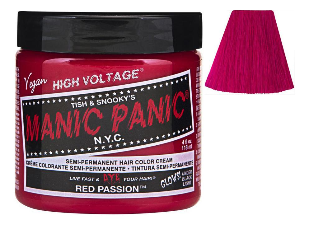 Купить Краска для волос High Voltage 118мл: Red Passion, Manic Panic