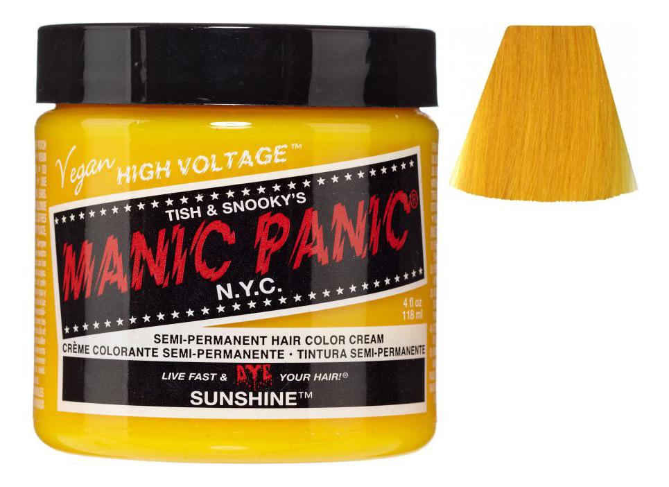 Купить Краска для волос High Voltage 118мл: Sunshine, Manic Panic
