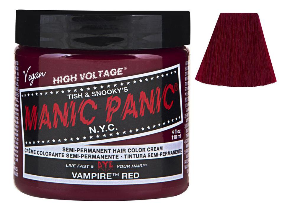 Купить Краска для волос High Voltage 118мл: Vampire Red, Manic Panic
