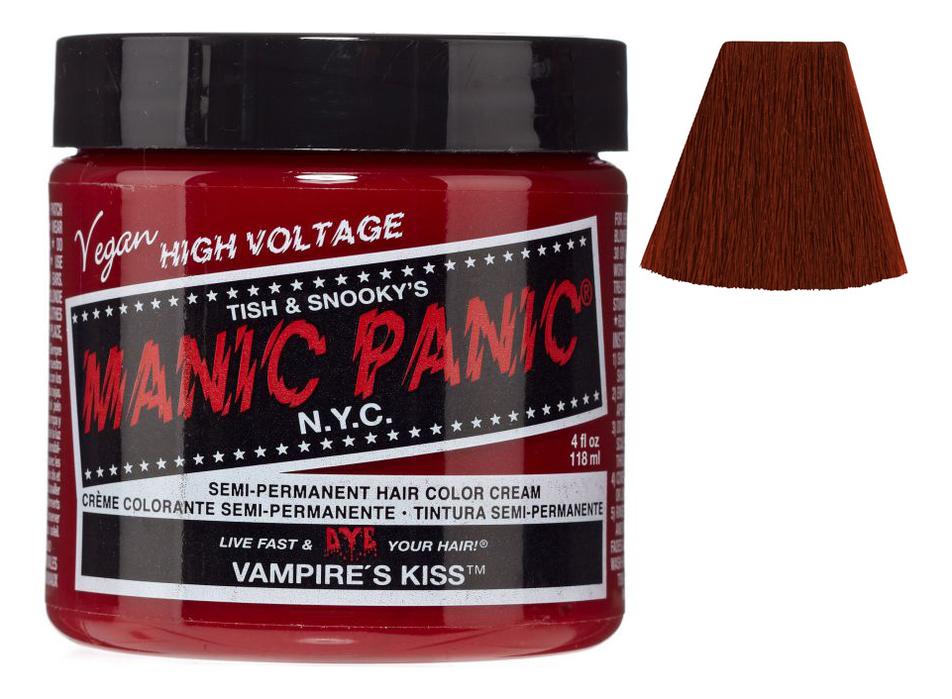 Купить Краска для волос High Voltage 118мл: Vampire's Kiss, Manic Panic