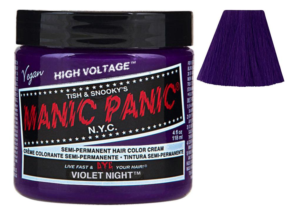 Купить Краска для волос High Voltage 118мл: Violet Night, Manic Panic
