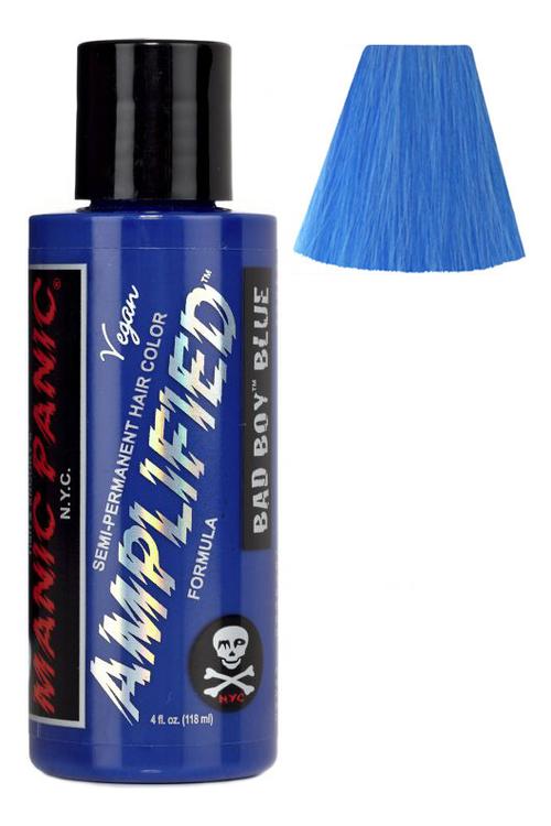 Усиленная краска для волос Amplified Squeeze Bottle 118мл: Bad Boy Blue