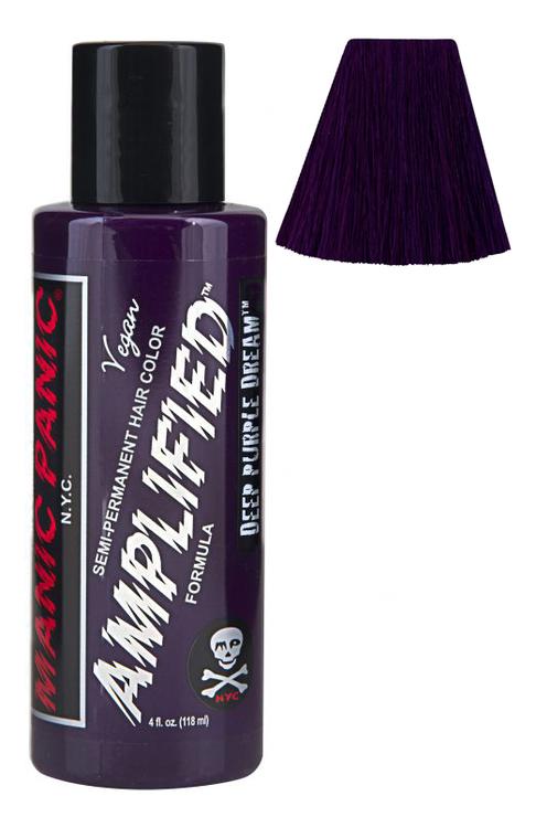 Купить Усиленная краска для волос Amplified Squeeze Bottle 118мл: Deep Purple Dream, Manic Panic