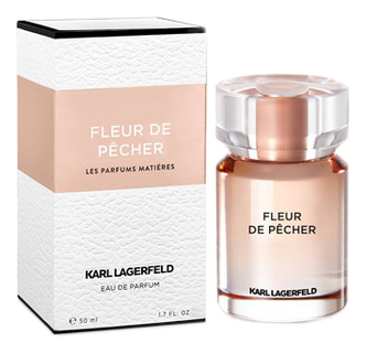 Купить Fleur De Pecher: парфюмерная вода 50мл, Karl Lagerfeld