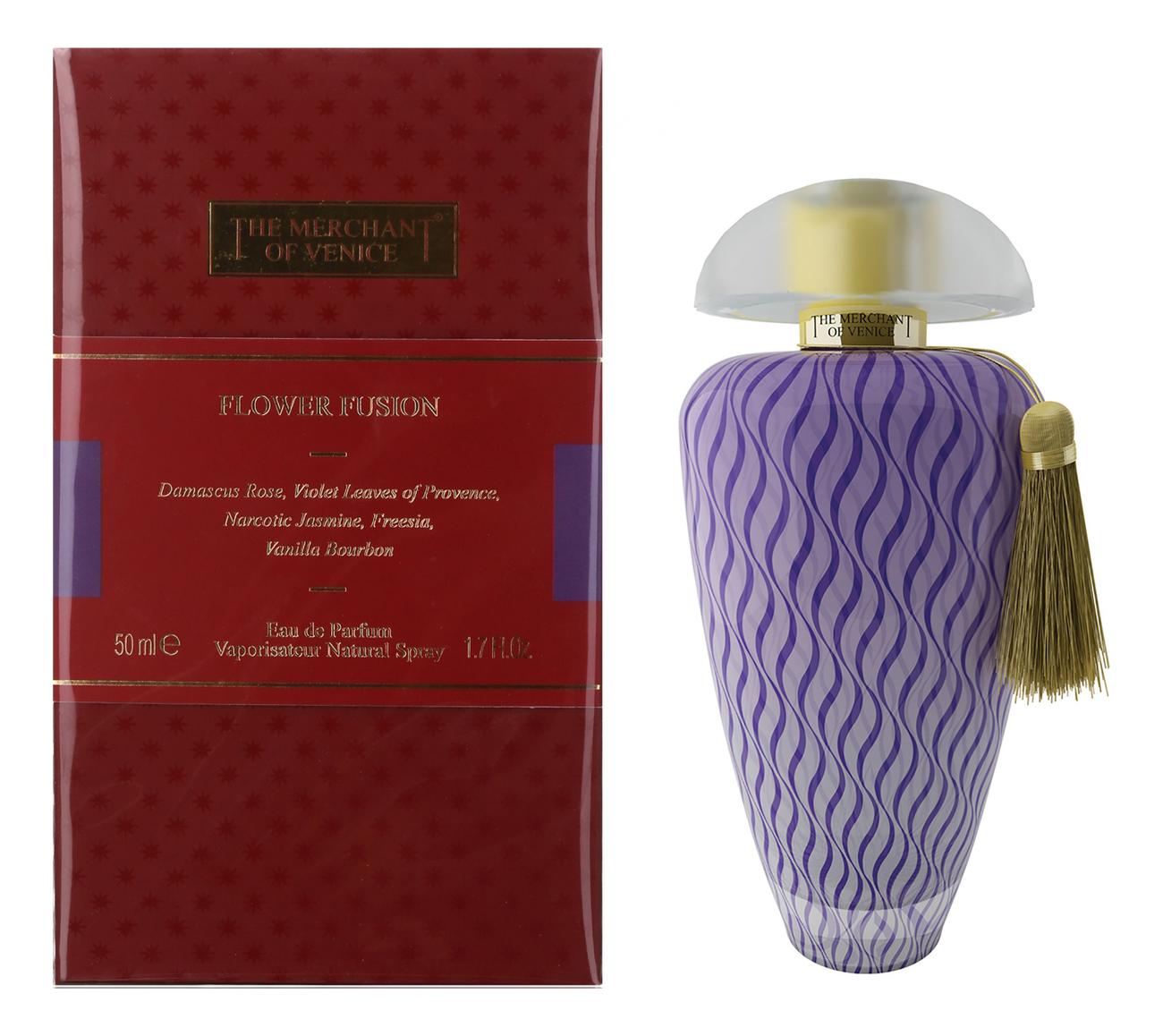 The Merchant Of Venice Flower Fusion: парфюмерная вода 50мл