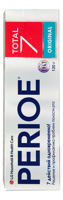 Купить Зубная паста комплексного действия Total 7 Original 120г, PERIOE