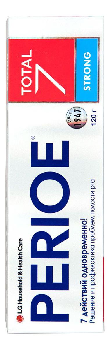 Зубная паста комплексного действия Total 7 Strong 120г perioe зубная паста комплексного действия total 7 original 120 гр perioe зубные пасты