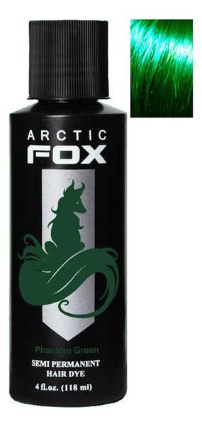 Купить Краска для волос Semi Permanent Hair Dye 118мл: Phantom Green, Arctic Fox