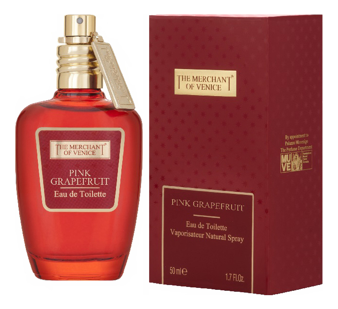 The Merchant Of Venice Pink Grapefruit: туалетная вода 50мл